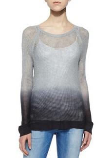 rag & bone/JEAN Odette Ombre Pullover Sweater, Gray