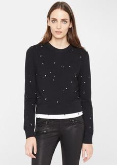 rag & bone/JEAN Paint Splatter Sweatshirt
