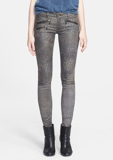 rag & bone/JEAN 'RBW 23' Leopard Print Leather Pants