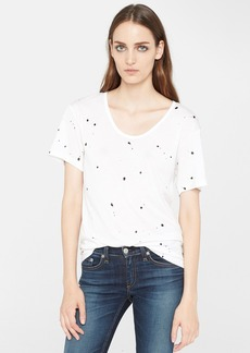 rag & bone/JEAN Splatter Paint Tee