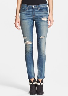 rag & bone/JEAN Stretch Skinny Jeans (Crochet Lace)