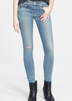 rag & bone/JEAN Stretch Skinny Jeans (Water Street)