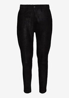 rag & bone/JEAN Suede Dash Trouser: Black