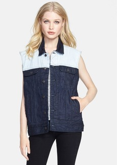 rag & bone/JEAN 'The Boyfriend' Colorblock Denim Vest