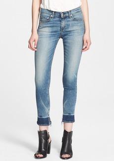 rag & bone/JEAN 'The Crop' Low Rise Skinny Jeans (Newquay)