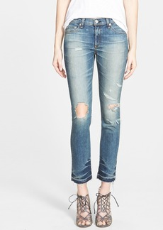 rag & bone/JEAN 'The Crop' Straight Leg Jeans (Ensenada)