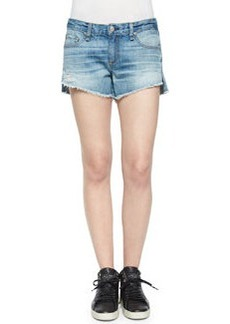 rag & bone/JEAN The Cutoff Mid-Rise Denim Shorts, Chesapeake