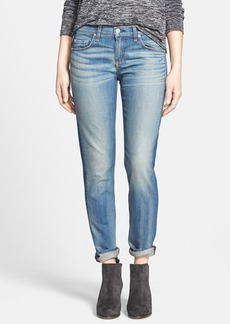 rag & bone/JEAN 'The Dre' Slim Fit Boyfriend Jeans (Golden) (Nordstrom Exclusive)