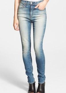 rag & bone/JEAN 'The Justine' High Rise Jeans (Surf)