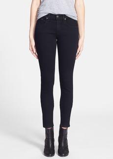 rag & bone/JEAN 'The Skinny' Stretch Jeans (Coal)