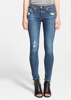 rag & bone/JEAN 'The Skinny' Stretch Jeans (La Paz)