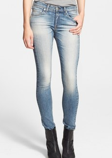 rag & bone/JEAN 'The Skinny' Stretch Jeans (Surf)