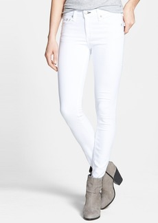 rag & bone/JEAN 'The Skinny' Stretch Skinny Jeans (Bright White)