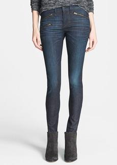 rag & bone/JEAN Zip Detail Skinny Jeans (Kensington) (Nordstrom Exclusive)