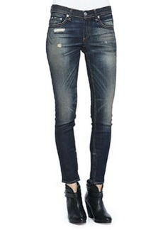 Skinny Zipper Capri Jeans, Mateos   Skinny Zipper Capri Jeans, Mateos