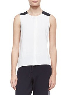 Sleeveless High-Low Flowy Top   Sleeveless High-Low Flowy Top