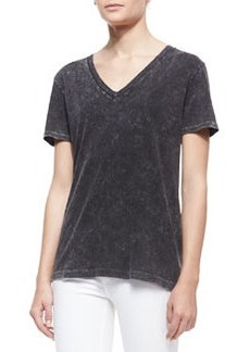 The Classic Velvet-Pattern Tee   The Classic Velvet-Pattern Tee