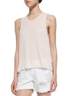 The Hollins Relaxed Crewneck Tank   The Hollins Relaxed Crewneck Tank