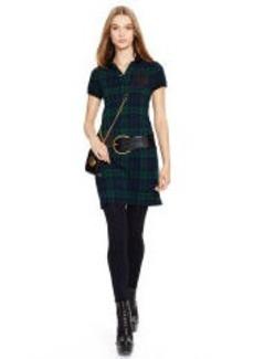 Blackwatch Plaid Polo Dress
