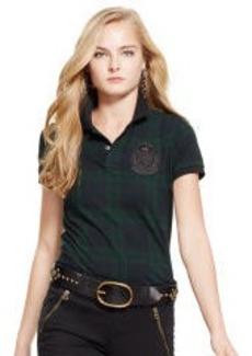 Blackwatch Plaid Polo Shirt