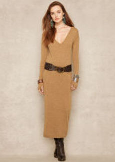 Cashmere Long-Sleeved Dress