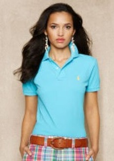 Classic-Fit Cotton Mesh Polo