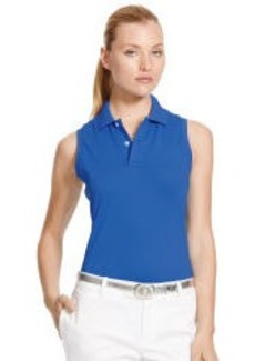 Classic-Fit Sleeveless Polo
