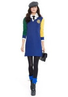 Color-Blocked Rugby Dress