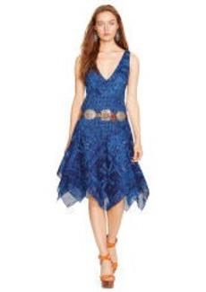 Cotton Gauze V-Neck Dress