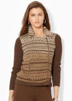Cotton Moto Sweater