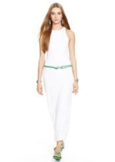 Cotton Racerback Maxidress