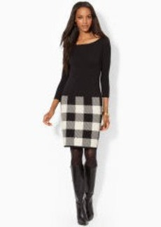 Cotton Sweater Dress