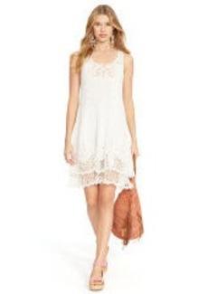 Crocheted Pima Cotton Dress