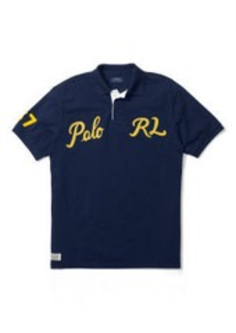 Ralph Lauren Custom Fit Mesh Polo Shirt Casual Shirts