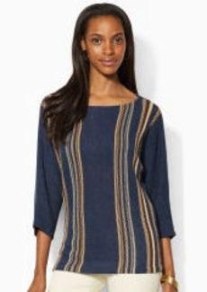 Dolman-Sleeved Sweater