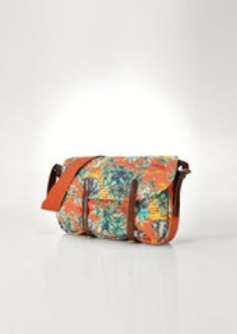 Ralph Lauren Floral Canvas Bag | Handbags - Shop It To Me