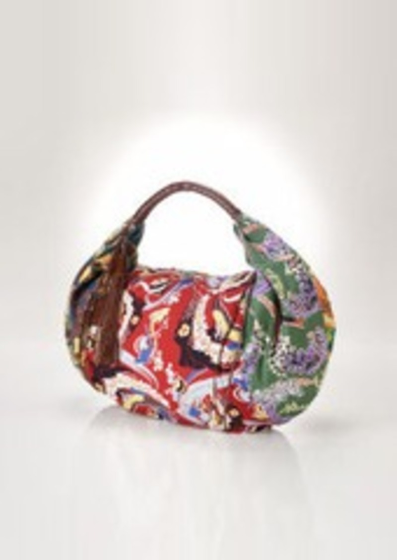 Ralph Lauren Floral Canvas Sling Bag | Handbags - Shop It To Me