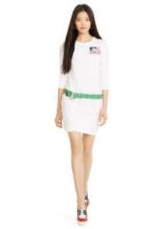 Graphic Cotton Shirtdress