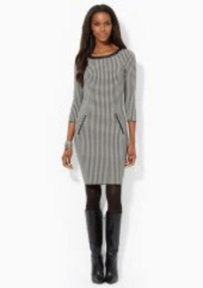 Houndstooth Cotton Dress