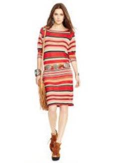 Jacquard-Knit Dress