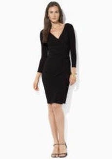 Jersey Surplice Dress