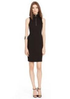 Jill Half-Zip Mockneck Dress