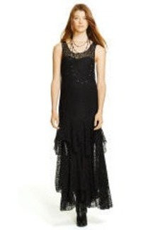 Lace Scoopneck Dress