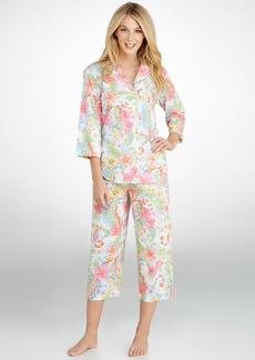 Lauren Ralph Lauren + Goa Woven Capri Pajama Set