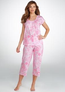Lauren Ralph Lauren + Nadini Jersey Knit Capri Pajama Set