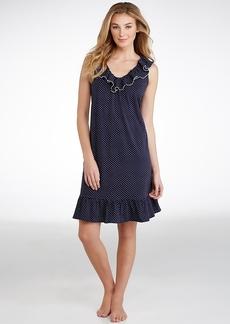 Lauren Ralph Lauren + Ruffle Knit Short Gown