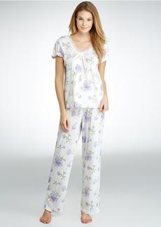 Lauren Ralph Lauren + Victorian Rebecca Knit Pajama Set