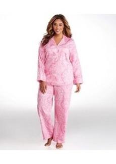 Lauren Ralph Lauren Ascot Lady Sateen Pajama Set Plus Size