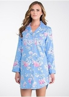 Lauren Ralph Lauren Ascot Lady Sateen Sleep Shirt