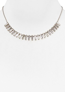 """Lauren Ralph Lauren Baguette Pendant Necklace, 16"""""""